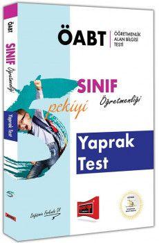 Yargı Yayınları ÖABT 5 PEKİYİ Sınıf Öğretmenliği Yaprak Test