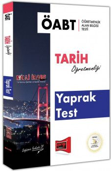 Yargı Yayınları ÖABT MİLLİ İRADE Tarih Öğretmenliği Yaprak Test