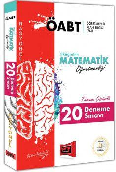 Yargı Yayınları ÖABT RASYONEL İlköğretim Matematik Öğretmenliği Tamamı Çözümlü 20 Deneme Sınavı