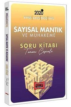 Yargı Yayınları 2020 KPSS ALES DGS YKS İçin Sayısal Mantık ve Muhakeme Tamamı Çözümlü Soru Kitabı