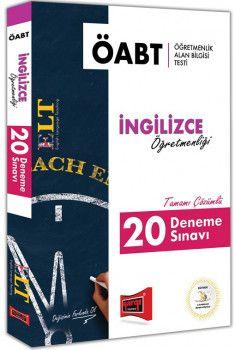 Yargı Yayınları ÖABT ELT İngilizce Öğretmenliği Tamamı Çözümlü 20 Deneme Sınavı