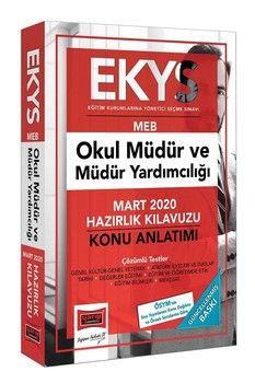 Yargı Yayınları 2020 EKYS MEB Okul Müdür ve Müdür Yardımcılığı Konu Anlatımlı Hazırlık Kılavuzu