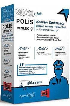 Yargı Yayınları 2020 Polis Meslek İçi Sınavlarına Hazırlık Konu Anlatımlı Modüler Set 7. Baskı