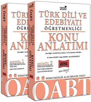 Yargı Yayınları 2020 ÖABT Türk Dili ve Edebiyatı Öğretmenliği Konu Anlatımlı Modüler Set