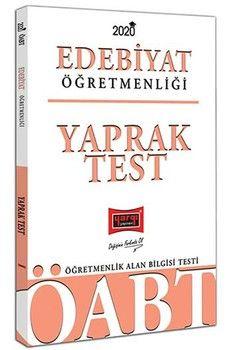 Yargı Yayınları 2020 ÖABT Türk Dili ve Edebiyatı Öğretmenliği Yaprak Test