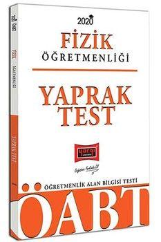 Yargı Yayınları 2020 ÖABT Fizik Öğretmenliği Yaprak Test