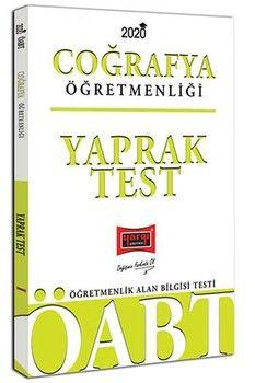 Yargı Yayınları 2020 ÖABT Coğrafya Öğretmenliği Yaprak Test