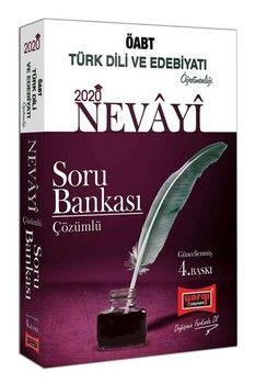 Yargı Yayınları 2020 ÖABT NEVAYİ Türk Dili ve Edebiyatı Öğretmenliği Çözümlü Soru Bankası 4. Baskı