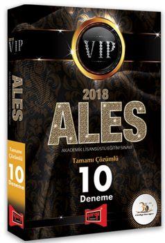 Yargı Yayınları 2018 ALES VIP Tamamı Çözümlü 10 Deneme