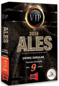 Yargı Yayınları 2018 ALES VIP Son 9 Sınav Tamamı Çözümlü Çıkmış Sorular