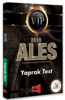 Yargı Yayınları 2018 ALES VIP Yaprak Test