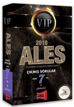 Yargı Yayınları 2018 ALES VIP Son 7 Yıl Çıkmış Sorular Çözümleri