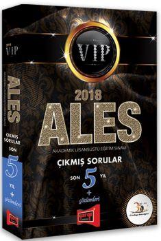 Yargı Yayınları 2018 ALES VIP Son 5 Yıl Çıkmış Sorular Çözümleri