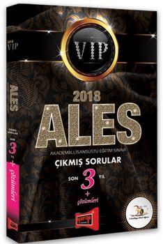 Yargı Yayınları 2018 ALES VIP Son 3 Yıl Çıkmış Sorular Çözümleri