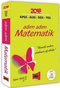 Yargı Yayınları 2018 KPSS ALES DGS YGS için Adım Adım Matematik