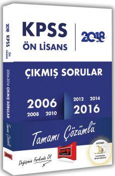 Yargı Yayınları 2018 KPSS Ön Lisans Tamamı Çözümlü 2006-2016 Çıkmış Sorular