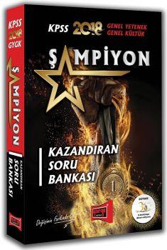 Yargı Yayınları 2018 KPSS Genel Yetenek Genel Kültür Şampiyon Kazandıran Soru Bankası