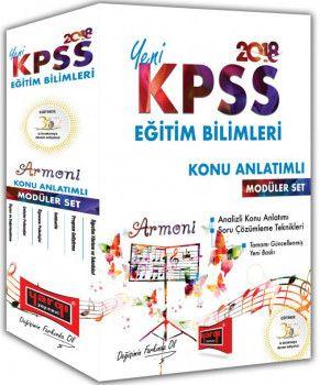 Yargı Yayınları 2018 KPSS Eğitim Bilimleri Armoni Konu Anlatımlı Modüler Set
