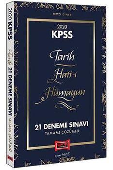Yargı Yayınları 2020 KPSS Tarih Hatt-ı Hümayun Tamamı Çözümlü 21 Deneme Sınavı