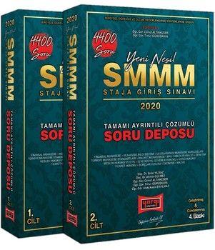 Yargı Yayınları 2020 SMMM Staja Giriş Sınavı Tamamı Ayrıntılı Çözümlü Soru Deposu 2 Cilt 4400 Soru
