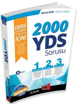 Yargı Yayınları YDS Sorusu Ders Çalışmayı Sevmeyenler İçin 8. Baskı