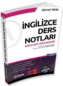 Yargı Yayınları YDS Grammar İngilizce Ders Notları 47. Baskı