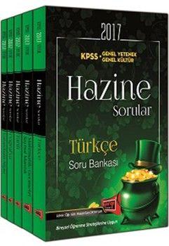Yargı Yayınları 2017 KPSS Genel Yetenek Genel Kültür Hazine Modüler Soru Bankası Seti