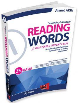 Yargı Yayınları YDS YÖKDİL Reading Words 25. Baskı