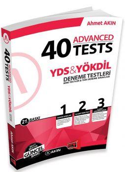 Yargı Yayınları YDS YÖKDİL 40 Advanced Tests 21. Baskı