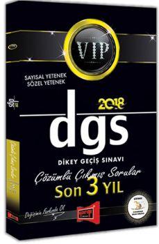 Yargı Yayınları 2018 DGS VIP Sayısal Sözel Yetenek Son 3 Yıl Çözümlü Çıkmış Sorular