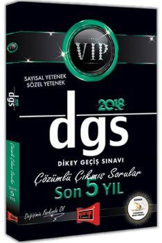 Yargı Yayınları 2018 DGS VIP Sayısal Sözel Yetenek Son 5 Yıl Çözümlü Çıkmış Sorular
