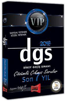 Yargı Yayınları 2018 DGS VIP Sayısal Sözel Yetenek Son 7 Yıl Çözümlü Çıkmış Sorular