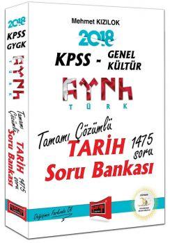 Yargı Yayınları 2018 KPSS Genel Kültür Türk Tarih Tamamı Çözümlü Soru Bankası