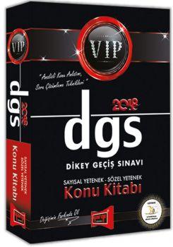 Yargı Yayınları 2018 DGS VIP Sayısal Sözel Yetenek Konu Kitabı