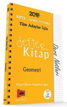 Yargı Yayınları 2018 KPSS Tüm Adaylar İçin Defter Kitap Geometri Ders Notları