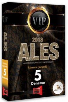 Yargı Yayınları 2018 ALES VIP Tamamı Çözümlü 5 Deneme