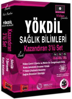 Yargı Yayınları YÖKDİL Sağlık Bilimleri Kazandıran 3\'lü Set