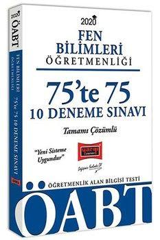 Yargı Yayınları 2020 ÖABT Fen Bilimleri Öğretmenliği 75te 75 Tamamı Çözümlü 10 Deneme Sınavı