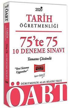 Yargı Yayınları 2020 ÖABT Tarih Öğretmenliği 75te 75 Tamamı Çözümlü 10 Deneme Sınavı