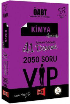 Yargı Yayınları ÖABT Değişim Serisi VIP Kimya Öğretmenliği Tamamı Çözümlü 41 Deneme