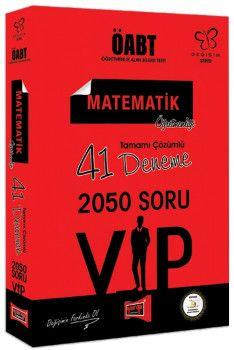 Yargı Yayınları ÖABT Değişim Serisi VIP Matematik Öğretmenliği Tamamı Çözümlü 41 Deneme