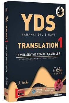 Yargı Yayınları YDS Yabancı Dil Sınavı Translation 1 Temel Seviye Renkli Çeviriler