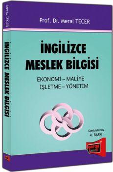 Yargı Yayınları İngilizce Meslek Bilgisi