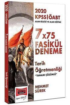 Yargı Yayınları 2020 ÖABT Tarih Öğretmenliği Tamamı Çözümlü 7×75 Fasikül Deneme
