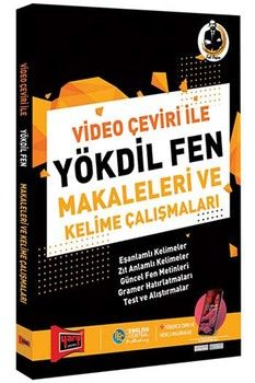 Yargı Yayınları YÖKDİL Video Çeviri İle Fen Makaleleri ve Kelime Çalışmaları 2. Baskı
