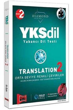 Yargı Yayınları YKSDİL Yabancı Dil Testi Translation 2 Orta Seviye Renkli Çeviriler