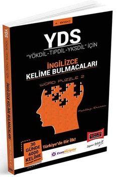 Yargı Yayınları YDS YÖKDİL TIPDİL YKSDİL İçin İngilizce Kelime Bulmacaları Word Puzzle 2