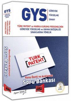 Yargı Yayınları GYS Türk Patent ve Marka Kurumu Konu Özetli ve Açıklamalı Soru Bankası