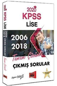 Yargı Yayınları 2020 KPSS Lise 2006 2018 Tamamı Çözümlü Çıkmış Sorular