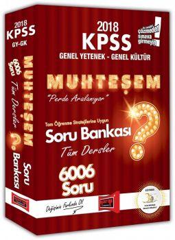 Yargı Yayınları 2018 KPSS Genel Yetenek Genel Kültür Muhteşem Tüm Dersler Soru Bankası
